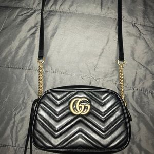 GG Marmont  Small Quilted Camera Bag (Brand New)